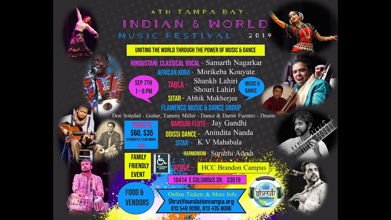 Tampa Day Indian & World Music Festival 2019