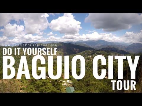 DIY Baguio City Tour (Botanical Garden, Mansion, Wright Park, Mines View) - G Vlogs #14