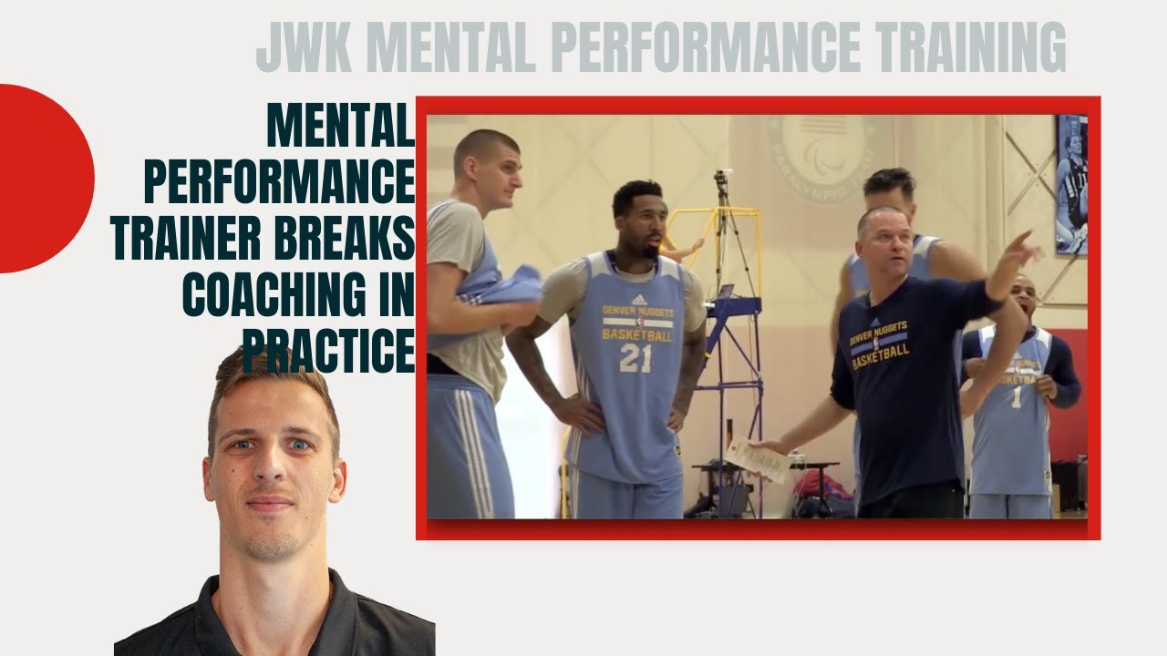 Professional Mental Performance Trainer Breaks Coaching In Practice