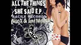 Dj Neox & Javi Molina - All the Things