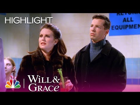 Will & Grace  Karen Misses Mason's Swim Meet Highlight