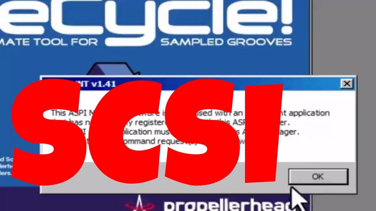 ASPI SCSI TREIBER WINDOWS 7