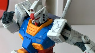 MG RX-78-2 Ver. OYW - REVIEW - First Gundam 0079 plastic model kit