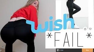 Testing $5 WISH Workout Leggings *FAIL*