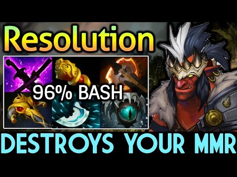 Resolution Dota 2 [Troll Warlord] Destroys Your MMR - 96% Bash thumbnail
