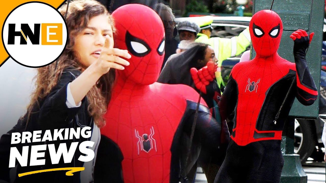 Spider Man Far From Home Black And Red Suit Revealed