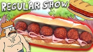 How to Make the DEATH SANDWICH from The Regular Show Feast of Fiction S6 E5