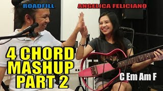 vuclip 4 CHORD MASHUP SONGS PART 2 by roadfill & Angelica Feliciano