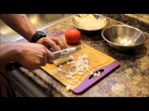 Basic Knife Skills - How to Dice an Onion or Tomato