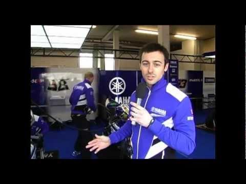 Yamaha Rider bits: Eugene Laverty (Yamaha World Superbike Team)