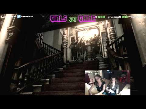 Girls Got Game Ep 6  Resident Evil HD Twitch Stream w Julia Voth and Hillary Bosarge  1  4