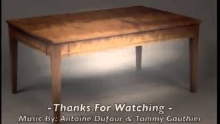 Custom Coffee Table Building Process By Doucette And Wolfe Fine Handmade Furniture