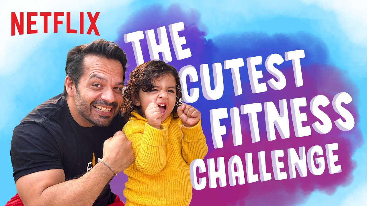 @Flying Beast Trains his Daughter | The Mighty Little Bheem Challenge | Netflix India