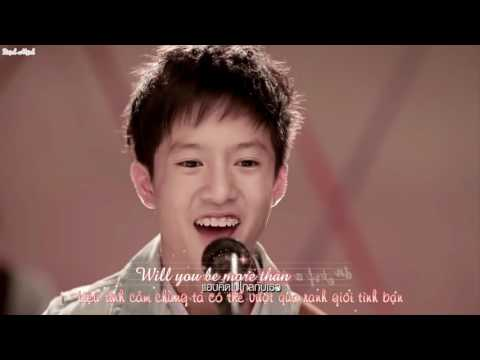 More Than A Friend - Stevie Hoang - Lyrics [HD Kara+Vietsub] [My Valentine day 2017]