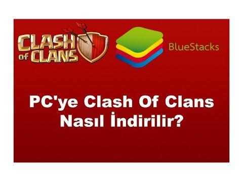 clash of clans bilgisayara nasıl indirilir?