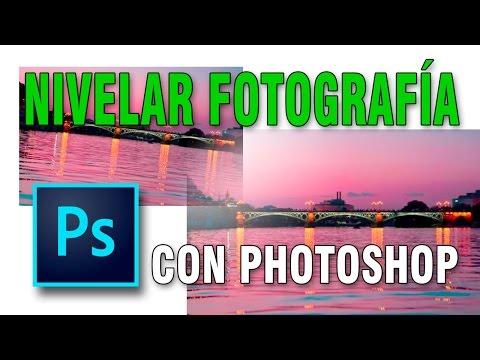 Cómo Nivelar O Enderezar Fotos En Photoshop