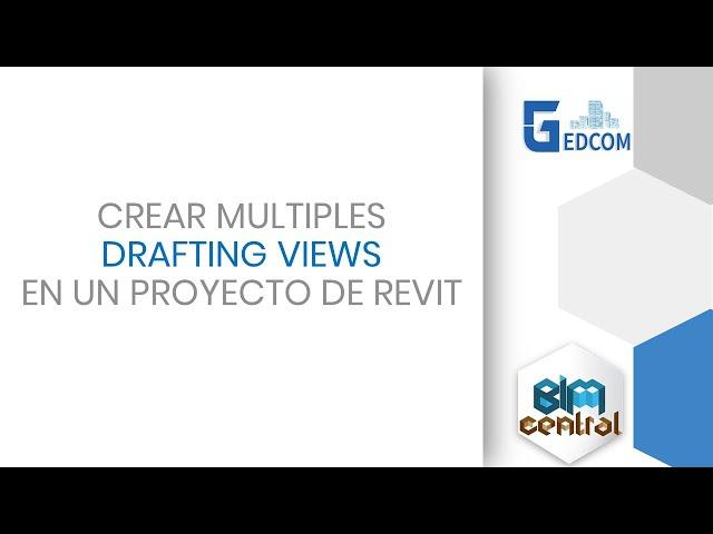 Crear múltiples Drafting views en Revit con Dynamo