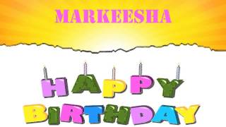 Markeesha   Wishes & Mensajes - Happy Birthday