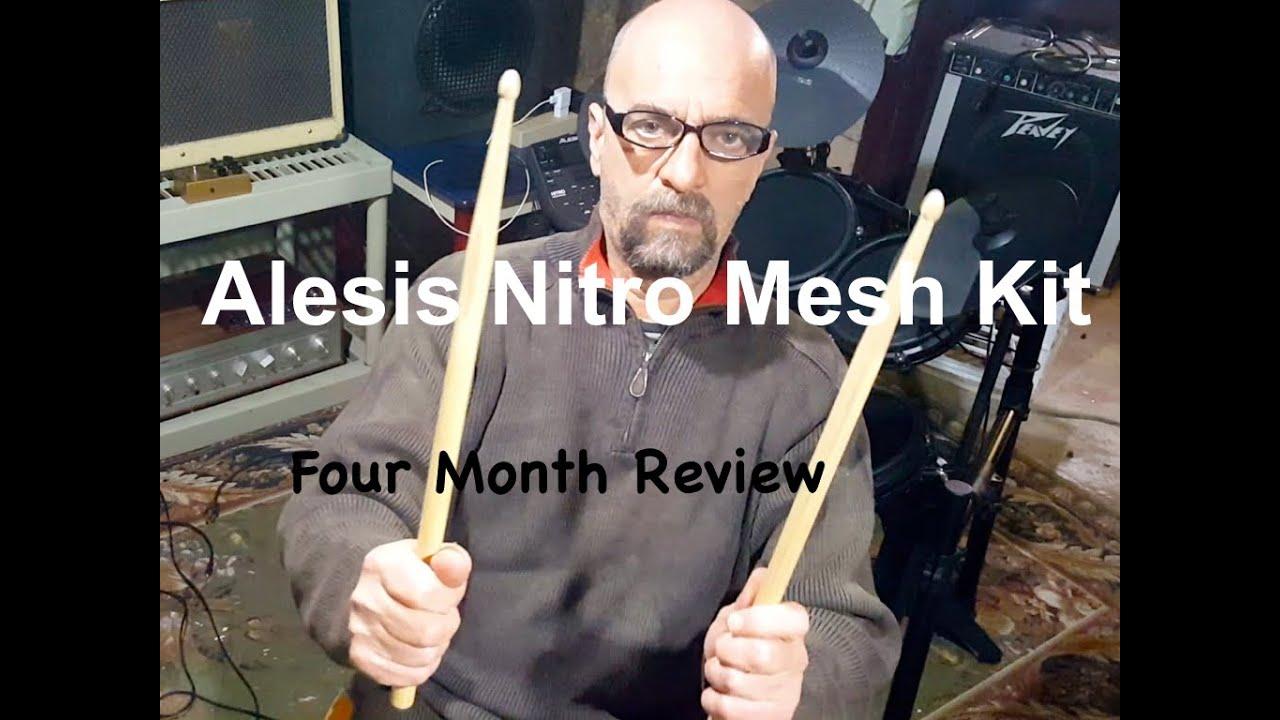 Alesis Nitro Mesh Kit - Four Month Review - YouTube