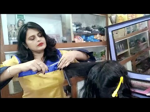 Three Step Cutting, Long To Short Hair Cut 💇💇seema Jaitly
