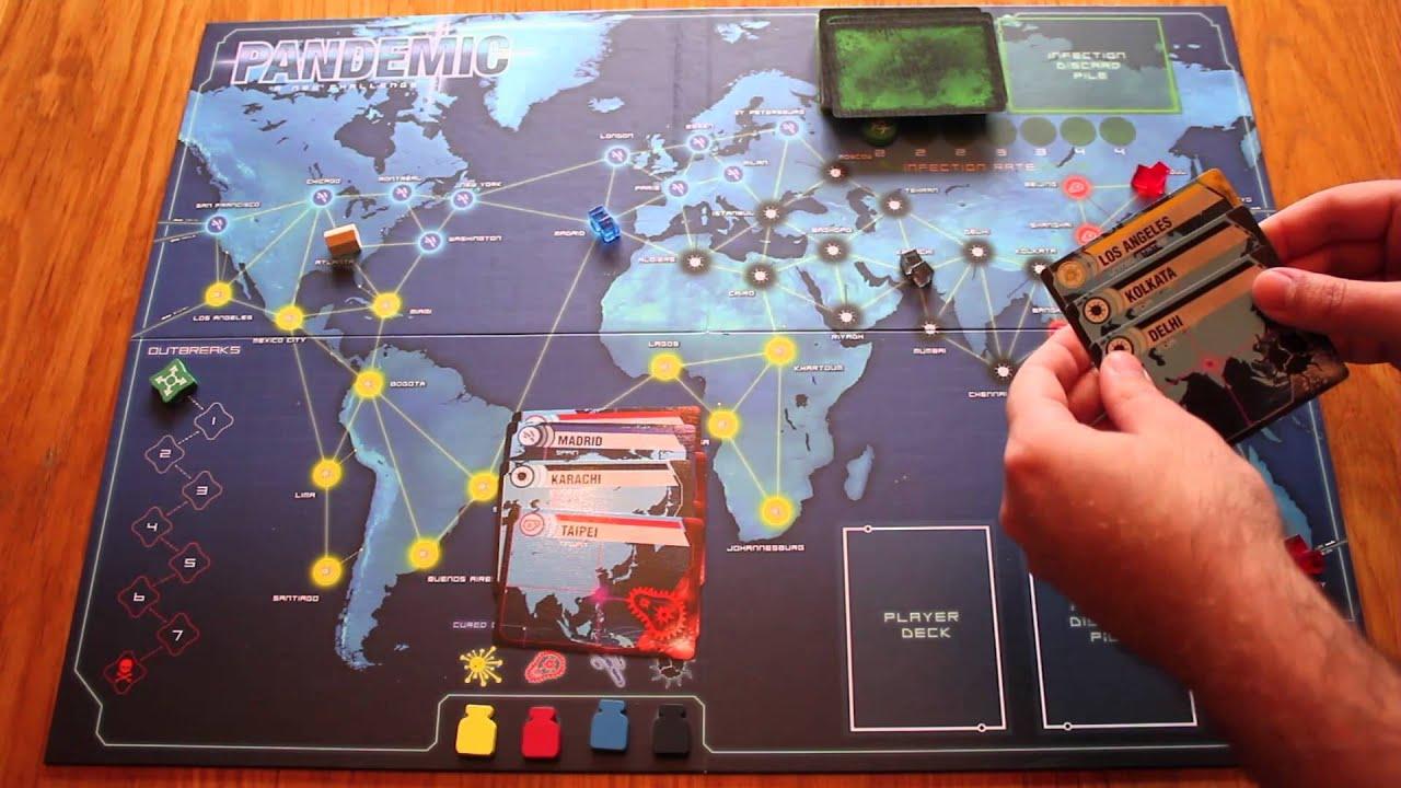 pandemic board game tutorial game setup youtube