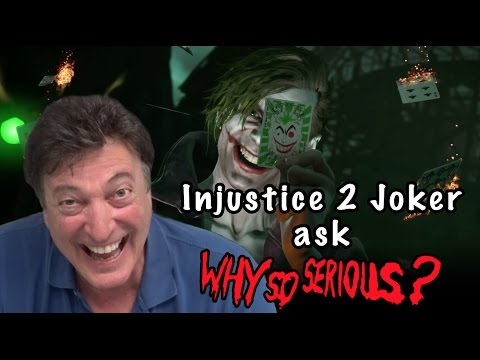 """Injustice 2 Joker Voice Actor says """"Why So Serious"""""""