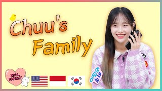 """Download Mom! Please tell me """"I love you""""😂💖LOONA Chuu's IDOL FAMILY [ENG/INDO]"""