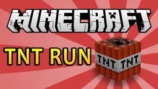 Мини игры Minecraft  TNT Run Беги Маузер БЕГИ