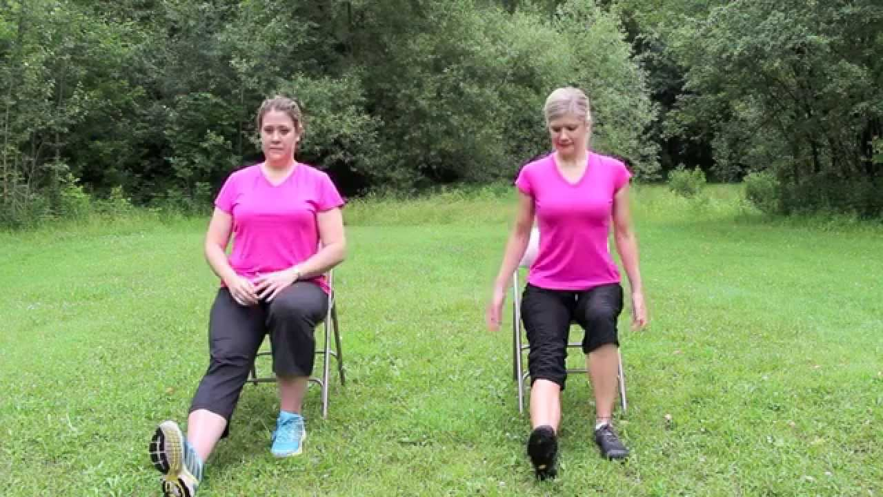 Gentle Chair Yoga Routine Youtube