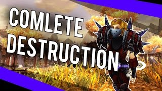 COMPLETE DESTRUCTION (Rogue BG) - (Assassination Rogue PvP) Warlords of Draenor 6.1