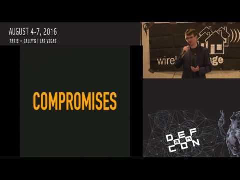 DEF CON 24 Wireless Village - Matt Knight - Reversting LoRa Deconstructing a Next Gen Proprietary LP