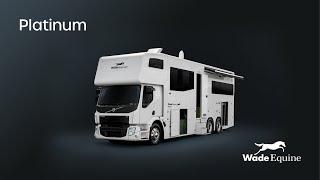 Wade Equine Coaches Platinum Series Plus