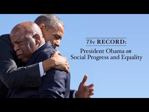 The Record: President Obama on Social Progress and Equality
