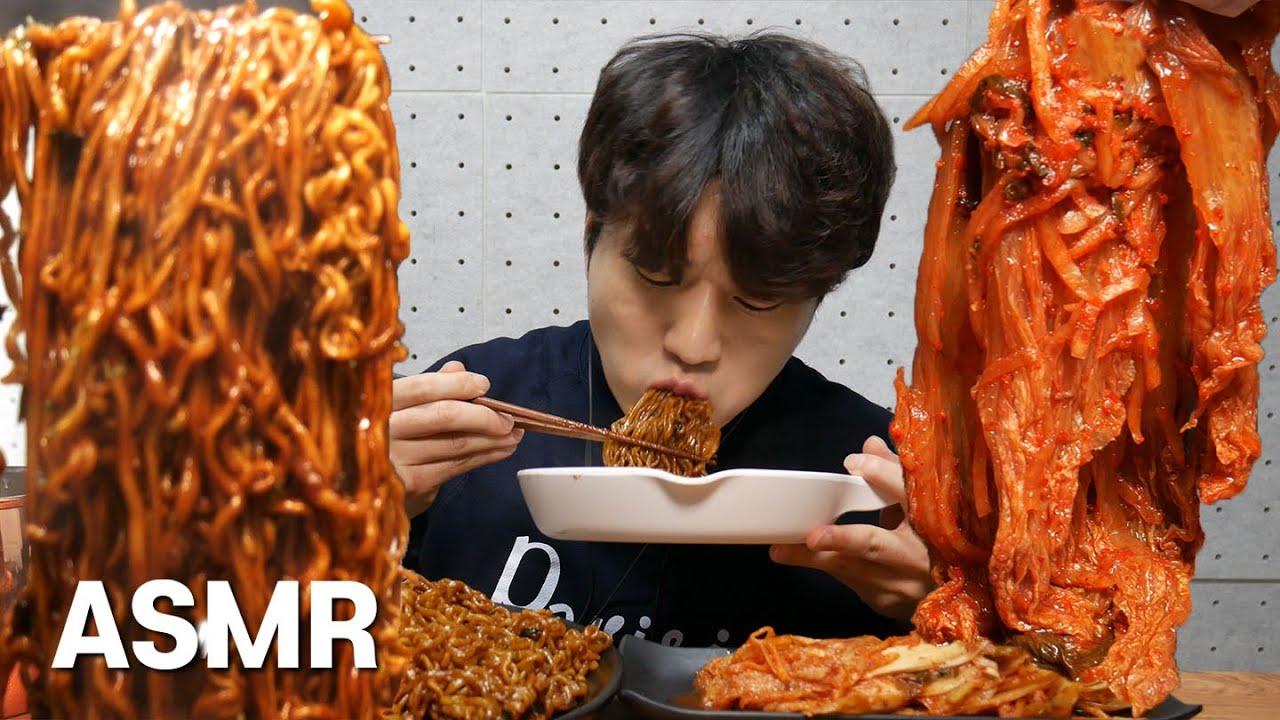 틈새계티 드셔보심?? 짜파구리 저리가라 신김치랑 MUKBANG ASMR Korean Spicy Noodle Ramen Social eating show