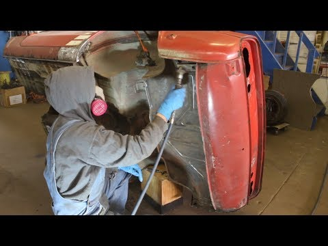 1972 Triumph GT6 Restoration - Part 32 - Cleaning the bottom of the car