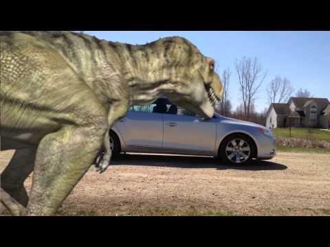 3d's Max T-rex Animation