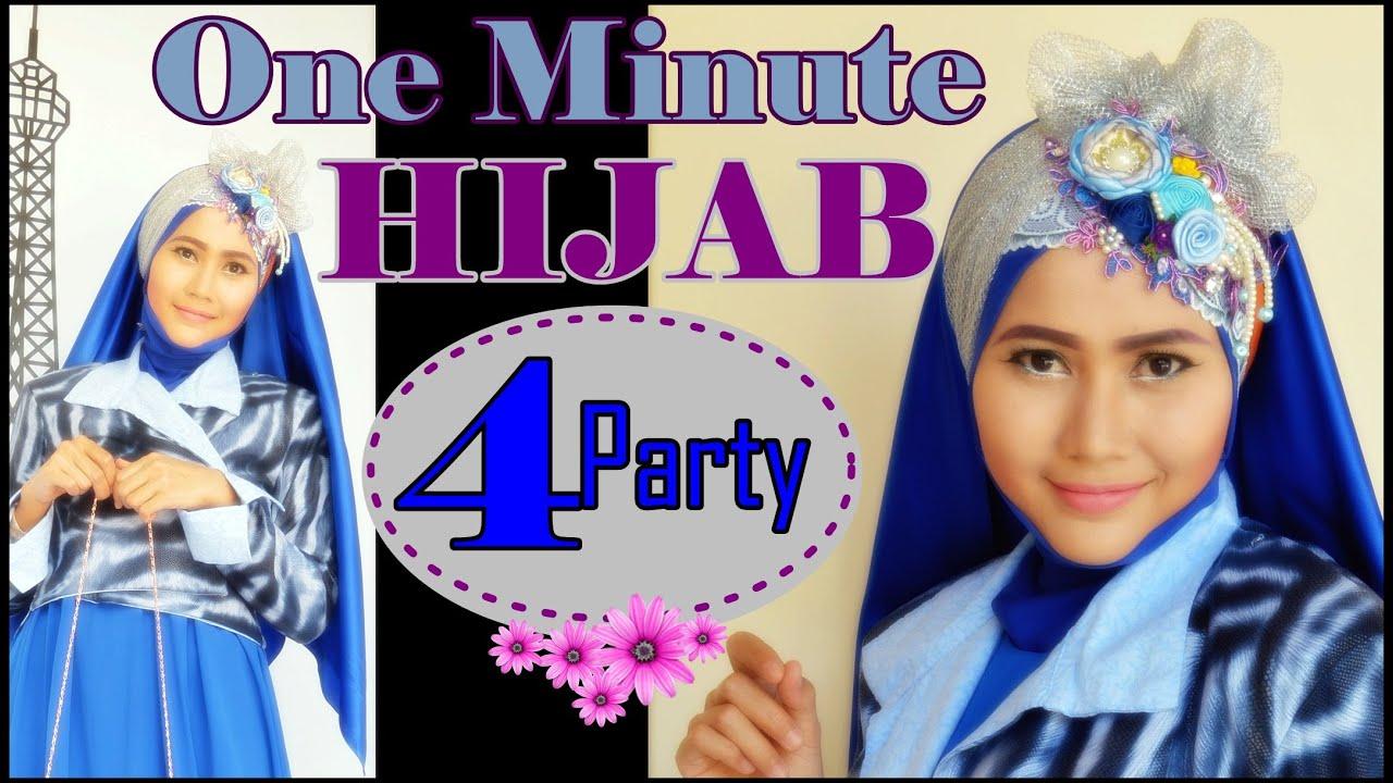 Tutorial Hijab Pesta Simple Dalam Satu Menit By Didowardah 65