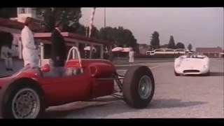 "Circuit of Modena 1968, Maserati birdcage 65,  Film ""the Fuller report"""