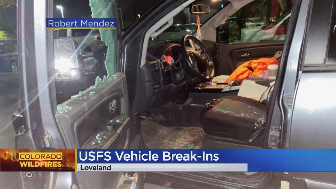 Trucks Of First Responders Broken Into At Evacuation Center In Loveland