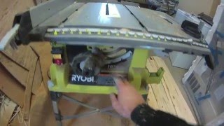 Ryobi 10 Table Saw Review