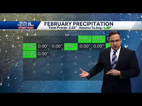 Ethan Huston has the WGAL Storm Team forecast