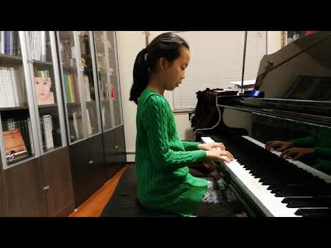 Serena Zhang9years plays theme from the new world symphony