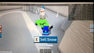 I have a small car! -Snow shoveling simulates EP 1 | Danish Roblox