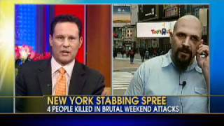 Interview: Man Survives NYC Subway Stabbing