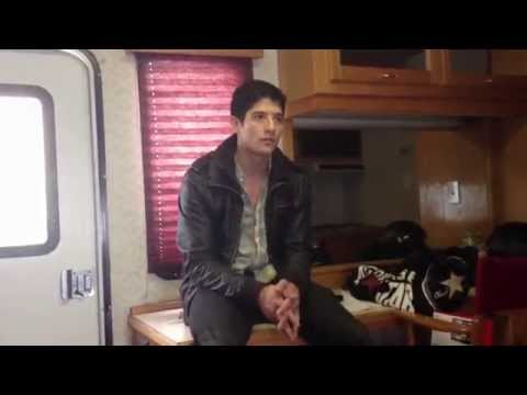 Roku with actor Jon Foo on the set of Extraction, a Crackle original movie