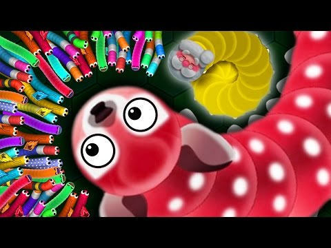 Thumbnail: Wormax.io - 1 ANGRY WORM vs. 500 MAGIC WORMS! // THE NEW SLITHER.IO (Wormax.io Funny Moments)