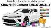 Fuse Box Location And Diagrams Chevrolet Camaro 2010 2015 Youtube