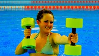 Аквааэробика для похудения Эффективные упражнения для начинающих