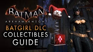 Batman: Arkham Knight - Batgirl: A Matter of Family - All Collectibles Guide