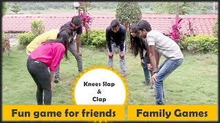 Knees Slap and Claps   icebreaker games   family games   Party games for kids and kitty party